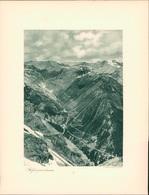 Kupfertiefdruck : Trafoi. Stilfserjochstraße. - Prints & Engravings