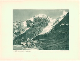 Kupfertiefdruck : Ortler. Franzenshöhe Mit Ortler. - Prints & Engravings