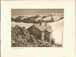 Kupfertiefdruck : Brandenburger Haus. Gletschertisch. - Prints & Engravings