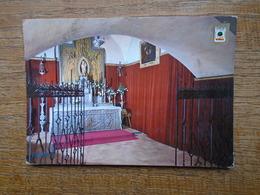 """Espagne , La Rabida ( Huelva ) Altar De Santa Maria De La Rabida , Virgen """""""" Beaux Timbres """""""" - Huelva"""