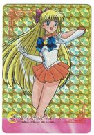 CARTE SAILOR MOON S SAILOR SOLDIERS ARE FIGHTING WITH THERE ENDLESS WAY / N° 473 1995 MADE IN JAPAN - Autres