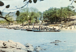 SIERRA LEONE - Bateaux De Pêche à Goderich - Fishing Boats At Goderich - Sierra Leone