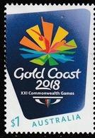 Australia 2018 MNH MUH - Gold Coast 2018 XXI Commonwealth Games - 2010-... Elizabeth II