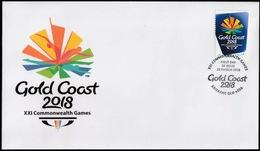 Australia 2018 First Day Cover FDC - Gold Coast 2018 XXI Commonwealth Games - 2010-... Elizabeth II