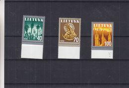 Lituanie - Yvert 406/8 ** - MNH - Religieux - Valeur 7,50 Euros - Lithuania