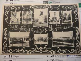 Montpellier 1905 Carte Multivues - Montpellier