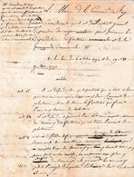 1841 - BAGES (66) - PROTECTION DE L'EAU De La Fontaine Et De L'Abreuvoir - Loi Du 6 Octobre 1790 - - Historische Documenten