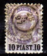Levante-Austriaco-43 - 1891-96 - Y&T N. 30 (o) - Senza Difetti Occulti. - Oriente Austriaco