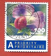 SVIZZERA - SUISSE - USATO - 2011 - Vegetable Blossoms - Snow Pea - 1 Fr. - Michel CH 2194 - Used Stamps