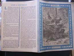 COUVERTURE CAHIER  - LOUPS ET CHEVREUIL - Ch. D. Paris - Animaux