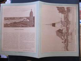 COUVERTURE CAHIER  - BANGKOK - UNE PAGODE - H. & Cie Paris - Buvards, Protège-cahiers Illustrés