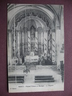 CPA 54 NANCY Hopital Villemin Et Maringer Intérieur De La Chapelle 1917 - Nancy