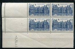 6344  - FRANCE    N°760**  10Fr  Bleu Palais Du Luxembourg    Du   9/12/46     TTB - 1940-1949