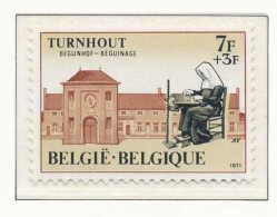 D- [150866] **/Mnh-[1572] Belgique 1971, Béguinage De Turnhout, SNC - Christianisme