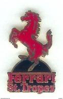 @@ Automobile Cheval Cabré FERRARI Saint Tropez Var EGF (3x1.50) Neuf @@aut 92b - Ferrari