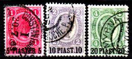 Levante-Austriaco-47 - Emissione Del 1900 (o) - Differenti Bollature - Senza Difetti Occulti. - Oriente Austriaco