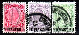Levante-Austriaco-48 - Emissione Del 1900 (o) - Differenti Bollature - Senza Difetti Occulti. - Oriente Austriaco