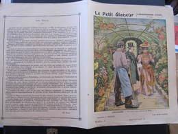COUVERTURE CAHIER  - LES FLEURS - UNE SERRE AUX ENVIRONS DE PARIS - Collection Charier - Blotters