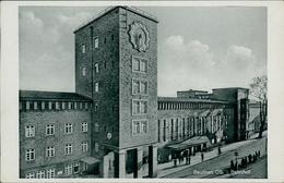 AK Beuten Bytom, Bahnhof, Um 1940 (9581) - Schlesien