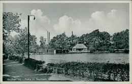 AK Beuten Bytom, Partie Im Stadtpark, Um 1940 (9585) - Schlesien
