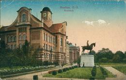 AK Beuten Bytom, Realschule, Um 1920 (9588) - Schlesien