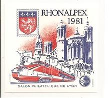 CNEP N° 2 NEUF ** LUXE - RHONALPEX 1981 : Cote: 10€ - CNEP