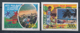Sénégal - Michel : N°1584/5 U** Cinquantenaire Des Voyages FRAM Non Dentelés - Sénégal (1960-...)