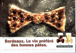 Bordeaux Le Vin Préféré Des Bonnes Pâtes Noeud Papillon - Vignes