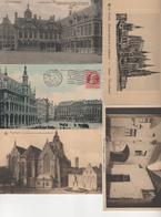 N 81  Lot 100 CPA    Différentes   De Belgique - Postcards