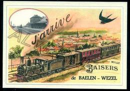 BAELEN - WEZEL   ...train Souvenir  Creation Moderne Série Limitée - Balen