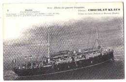 (Marine De Guerre) 163, Chocolat Klaus 05, Foudre, Croiseur Porte-Torpilleurs - Guerra