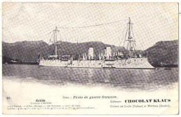 (Marine De Guerre) 168, Chocolat Klaus 15, Galilée, Croiseur à Barbette - Guerra