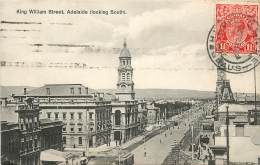 AUSTRALIE KING WILLIAM STREET ADELAIDE LOOKING SOUTH - Adelaide