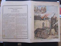 COUVERTURE CAHIER  - LE SIEGE D'AVARICUM (52 Av J.C.) - Imp. Godchaux - Blotters