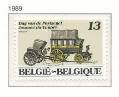 D- [152874] **/Mnh-N° 2322, Journée Du Timbre, Malle-poste Et Chaise De Poste, Diligence, SNC - Neufs