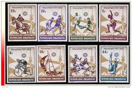 Rwanda 0485/92**  Jeux Olympiques De Munich MNH - Rwanda