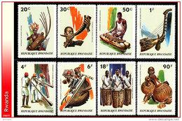Rwanda 0519/26**  Musique MNH - Rwanda