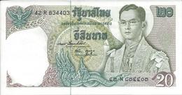 Thailande   20 Bath   Nd(1978)     P84a   NEUF - Thailand