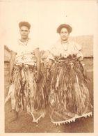 WALLIS-et-FUTUNA  - Cliché D'un Couple De Jeunes Mariés WALLISIENS à La Sortie De L'Eglise - Voir Description - Wallis-Et-Futuna