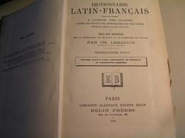 Dictionnaire - Latin / Français Par Ch Lebaigue - 34 è Edition - 1906 - Dictionaries