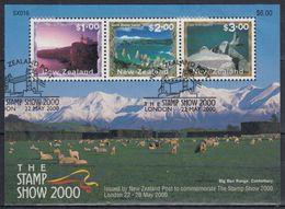 NUEVA ZELANDA 2000 Nº HB-139 USADO - Usados