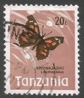 Tanzania. 1973 Definitives. 20c Used. SG 161 - Tanzania (1964-...)