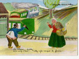 Legendes MORVANDELLES Les Coliques Arretez Bon Sang D'tacot, Illustrateur, Train,oie Dans Panier - Frankreich