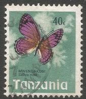 Tanzania. 1973 Definitives. 40c Used. SG 163 - Tanzania (1964-...)