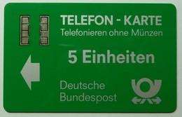 GERMANY - Aachen Test / Trial - TA7b - Bundespost - Silver Chip - 5 Units - 10 Prefix - Used - T-Series : Test