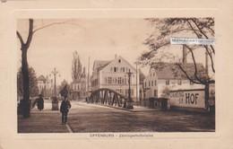 OFFENBURG - Allemagne - Zähringehofbrücke - Offenburg