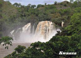 1 AK Angola * Kwanza Wasserfall In Der Provinz Malanje * - Angola