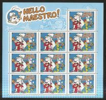 2017 - Bloc Feuillet HELLO MAESTRO NEUF** LUXE MNH RARE - Sheetlets
