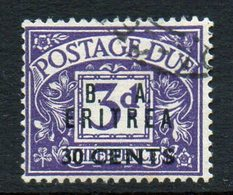 ERITREA : R127  -  1950 Occupaz. Inglese : Tasse 30 C. Usato  -  Sassone € 30 - Great Britain (former Colonies & Protectorates)