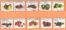 COB  3685/3694  (o)  - (Lot 105) - Used Stamps